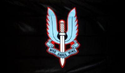 BRITISH S.A.S. SPECIAL AIR SERVICE - 5 X 3 FLAG